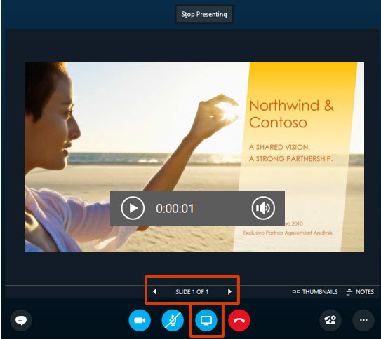 Upload and share a PowerPoint presentation